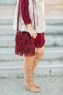 a bohemian fall outfit post by M Loves M