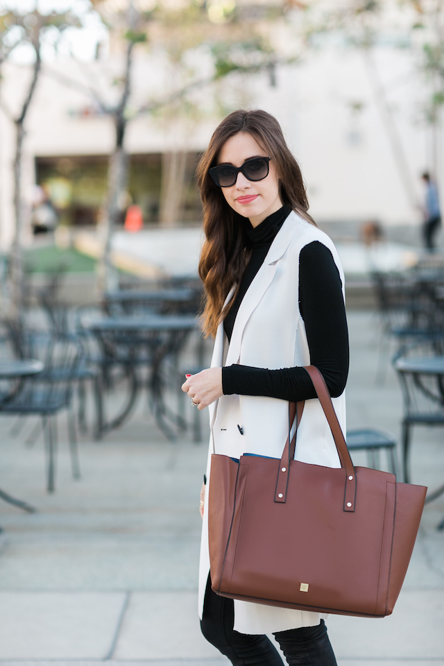 neutral work outfit inspiration M Loves M @marmar