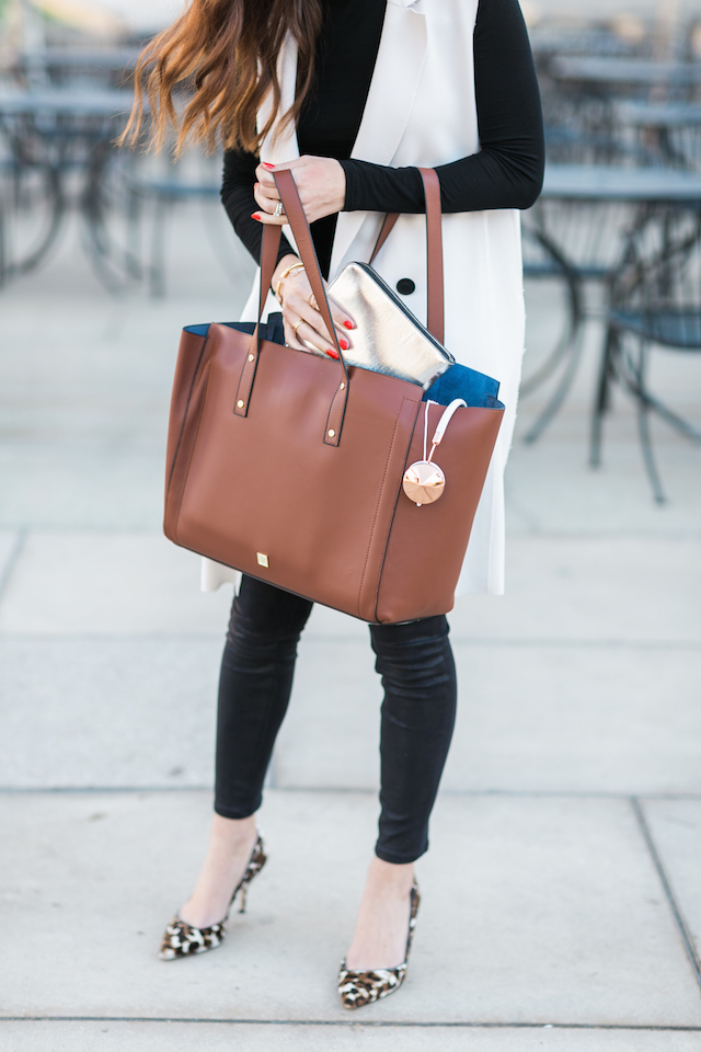 the best work tote - Ivanka Trump Soho Tote. It holds everything! M Loves M @marmar