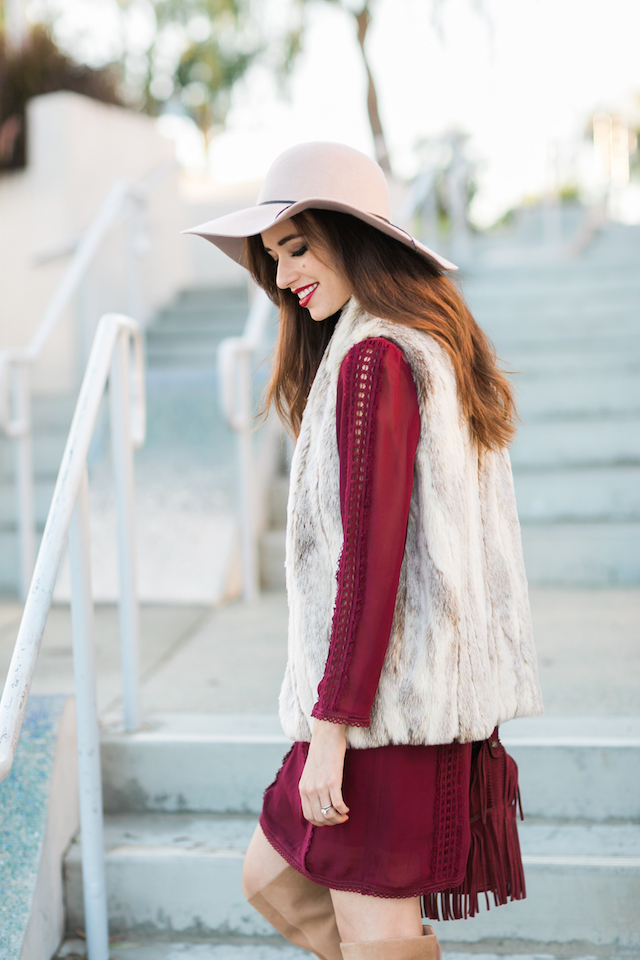 boho chic fall outfit M Loves M @marmar