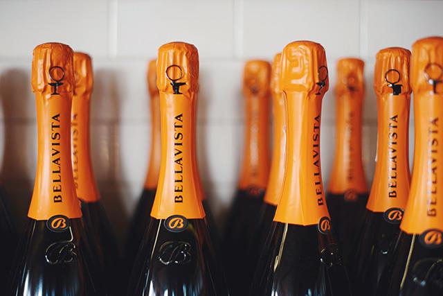 bellavista sparkling white wine M Loves M