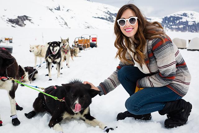 dog sledding in alaska M Loves M