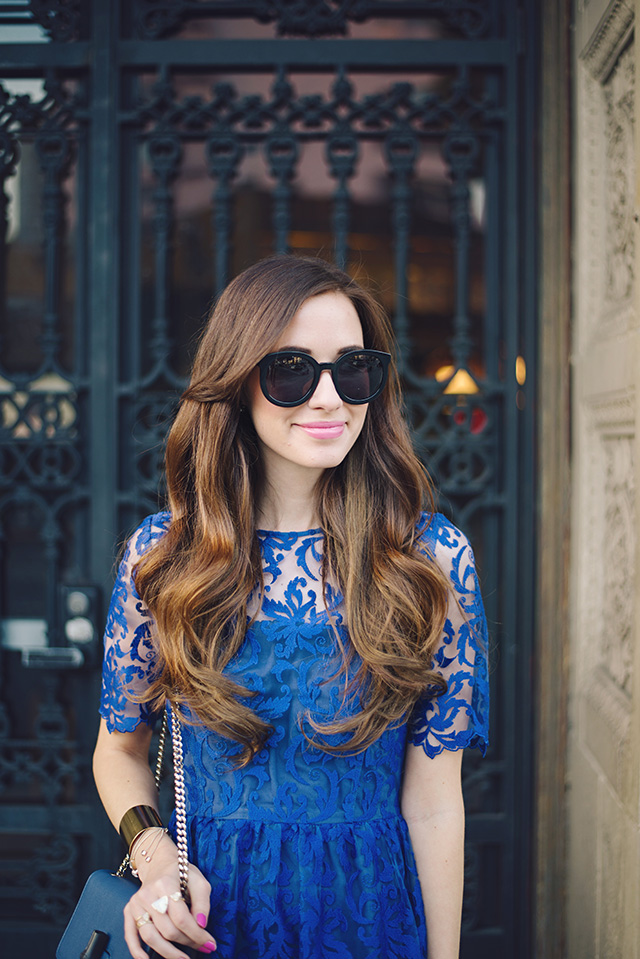 blue holiday dress inspiration by M Loves M
