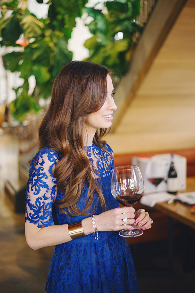 learning about five holiday appropriate wines by M Loves M