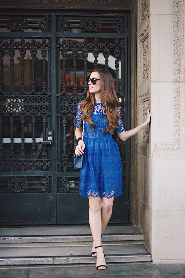 holiday outfit inspiration with a dress that's not red by M Loves M