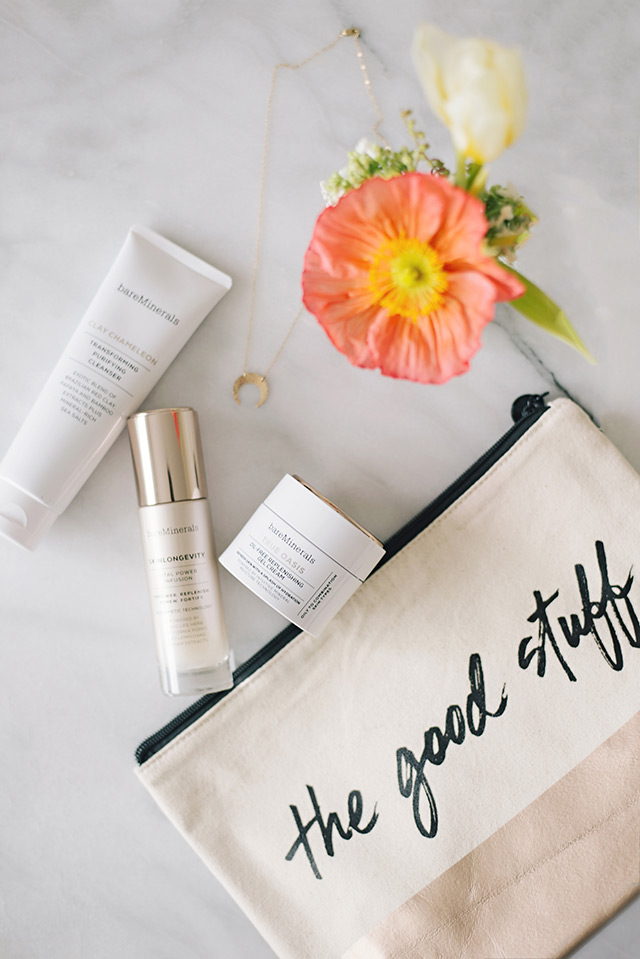 review of bareminerals new skincare line M Loves M