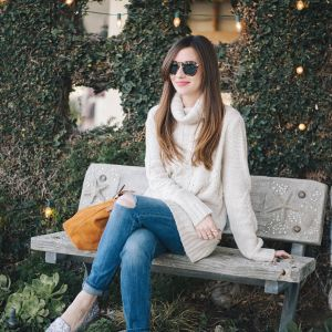 styling boyfriend jeans with flats M Loves M