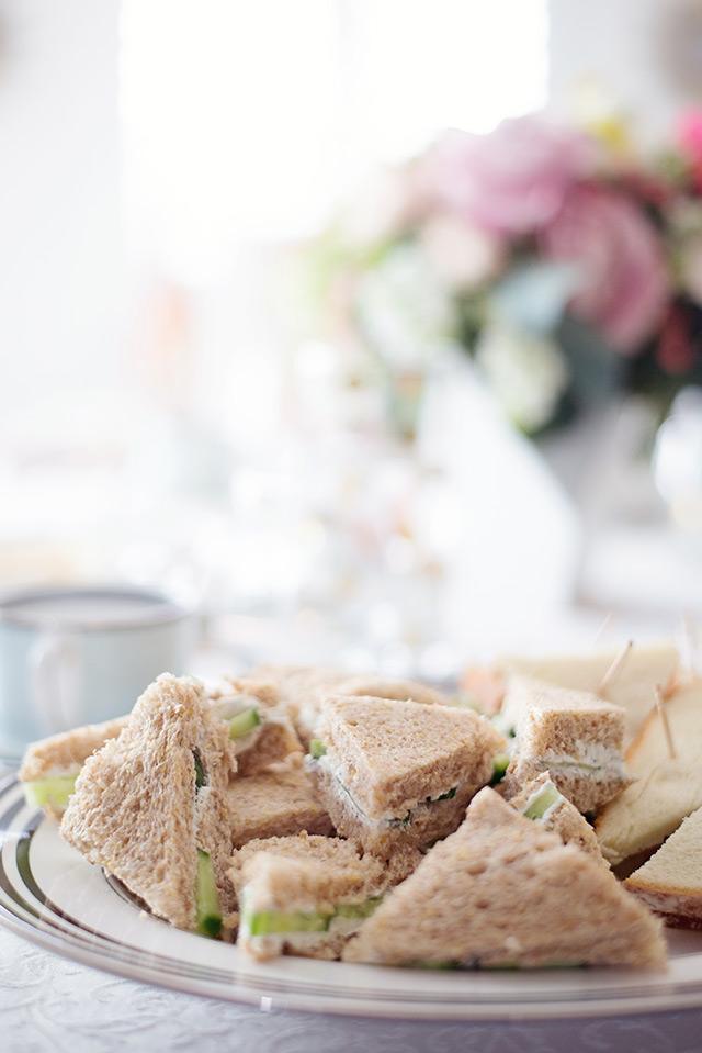 my favorite tea sandwiches M Loves M