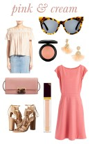 pink and cream shopping post M Loves M