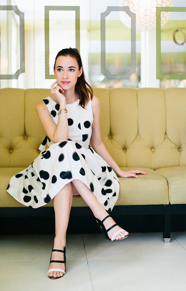 the perfect print for palm springs: polka dots! M Loves M