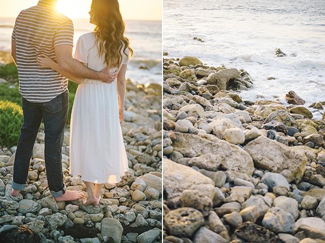M Loves M couple shoot at beach