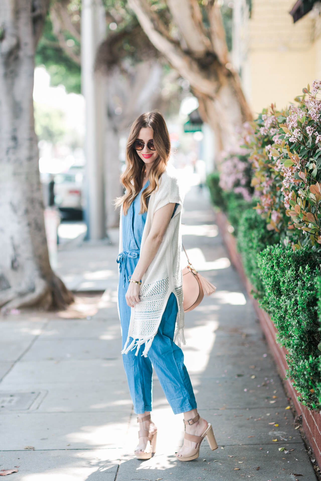 styling a denim jumpsuit for festival season M Loves M