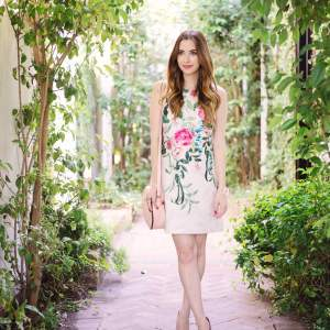 spring floral outfit inspiration