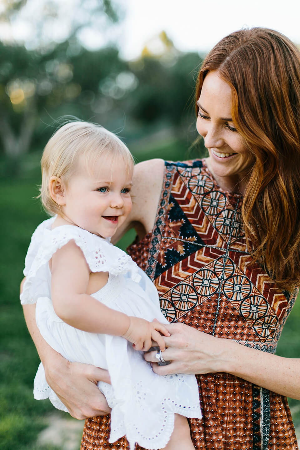 Samatha Wennerstrom on waiting to find out baby Elin's gender