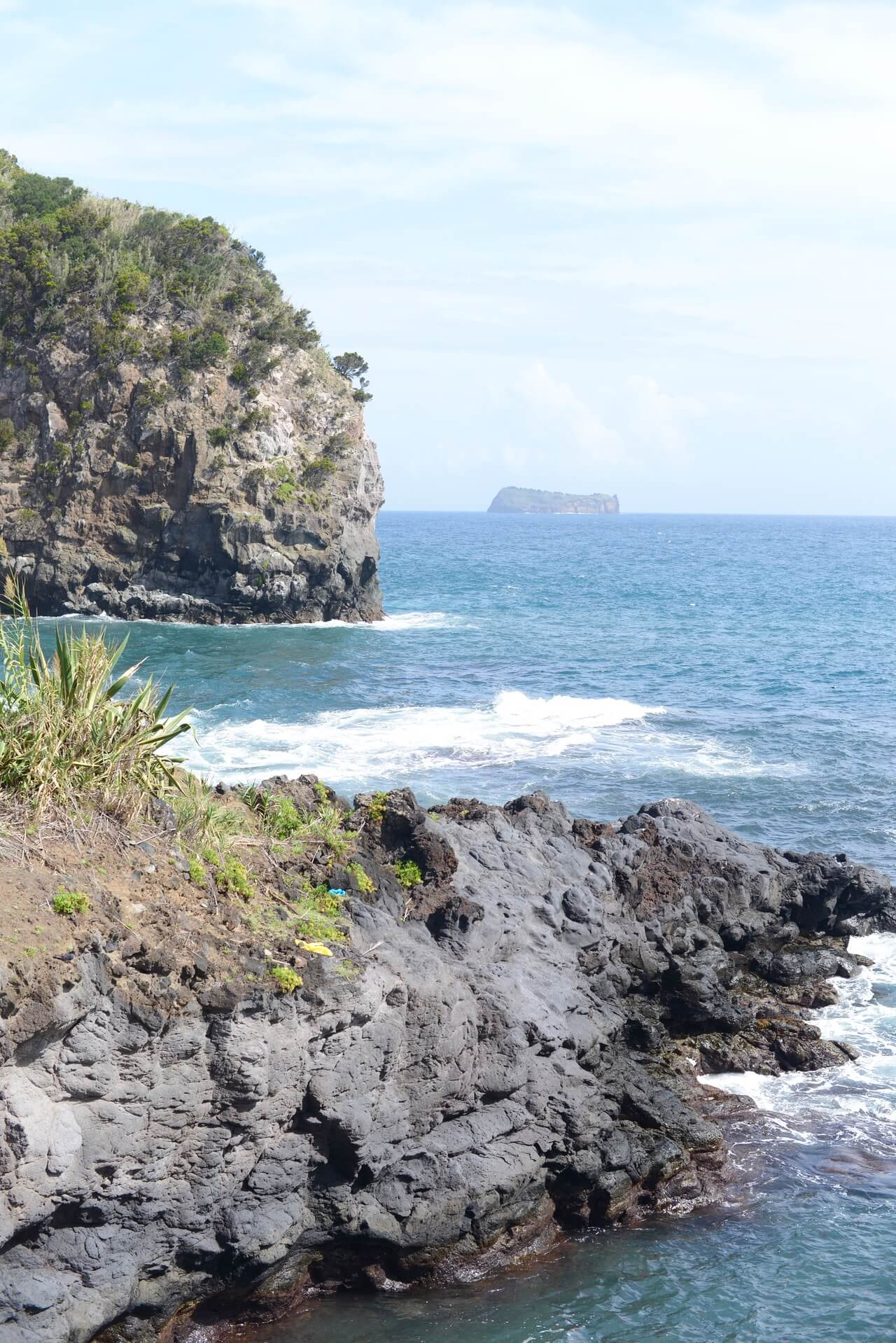 beautiful beach in sao miguel azores portugal