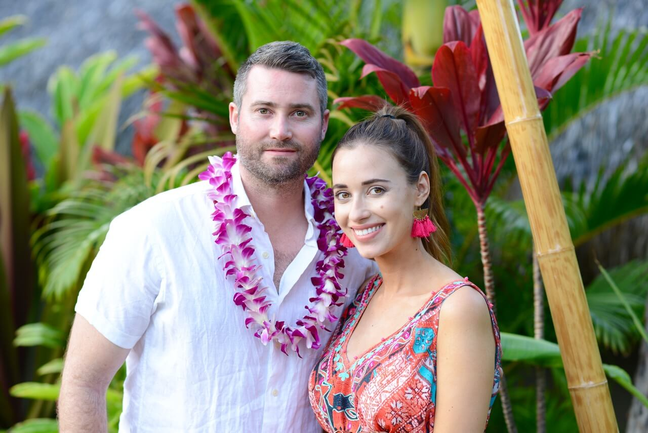 Mara and Matthew in Maui on Babymoon