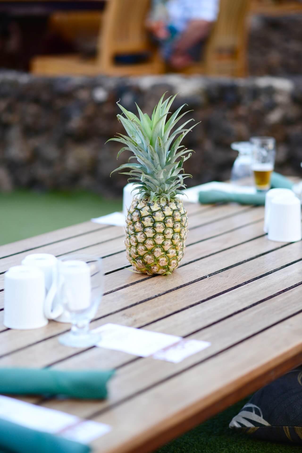 tables at Old Lahaina Luau