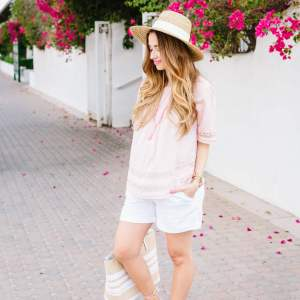 casual summer shorts outfit inspiration