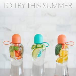 3 infused water combinations to try this summer