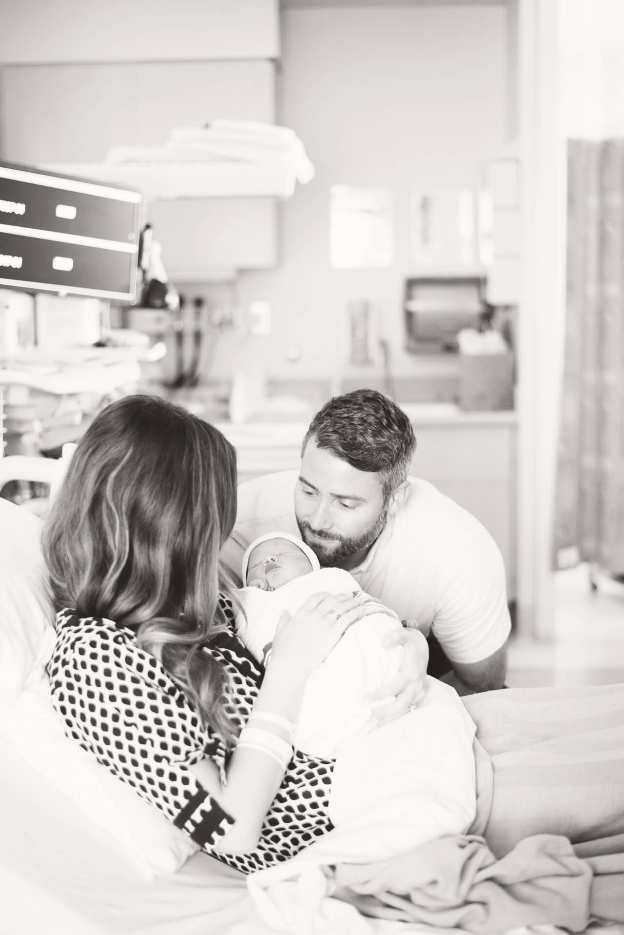 photos in hospital after delivery - M Loves M Birth Story