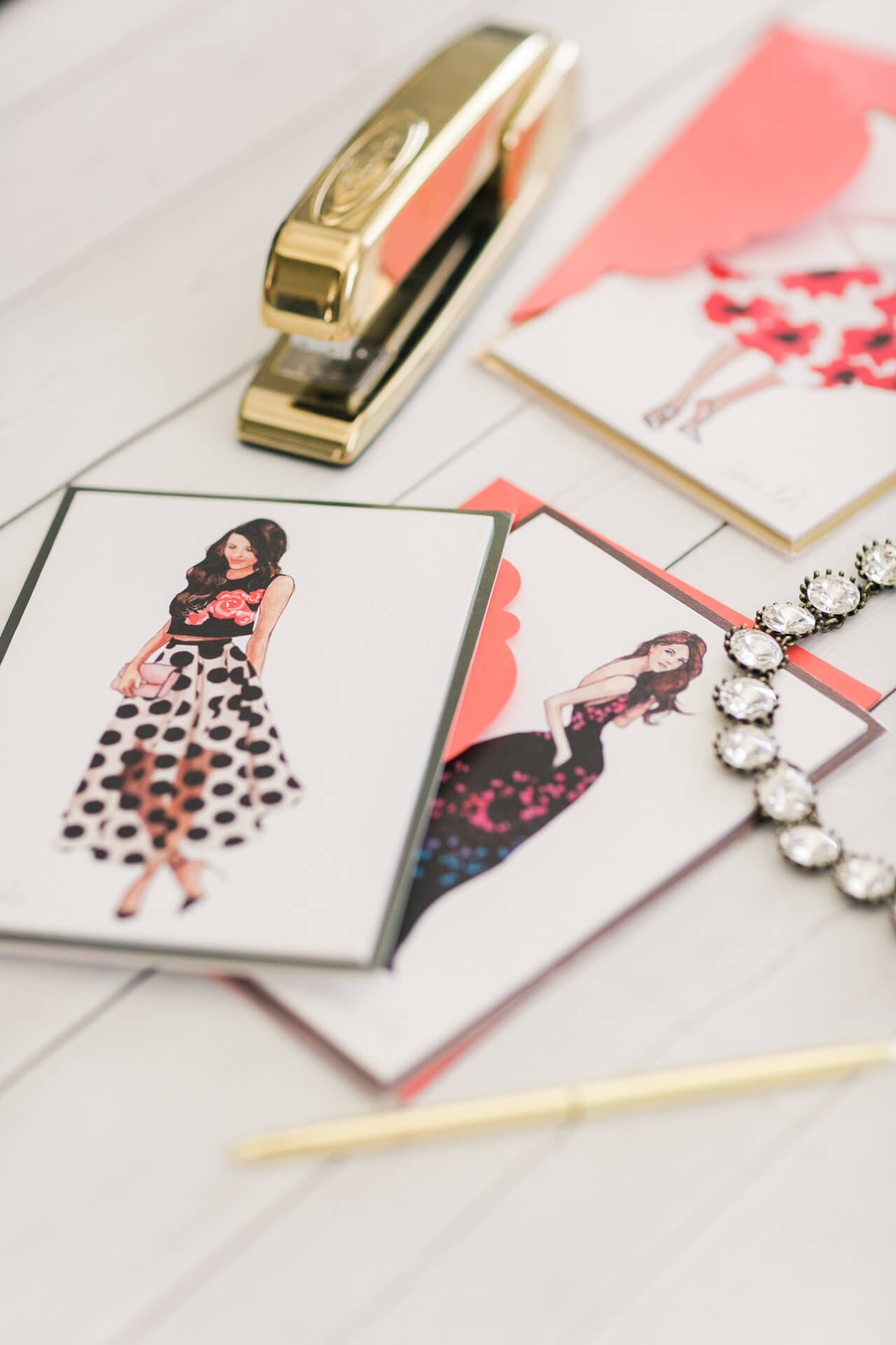 the prettiest card collaboration: lela rose for papyrus! it's so good!