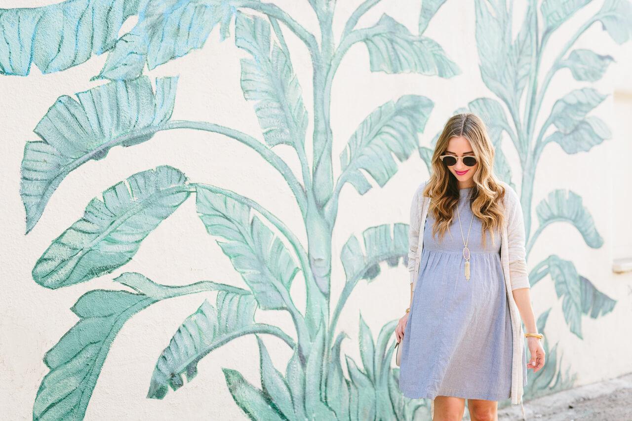 palm tree mural - los angeles street art