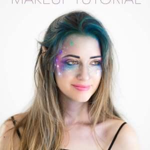 Galaxy Girl Makeup Tutorial- M Loves M