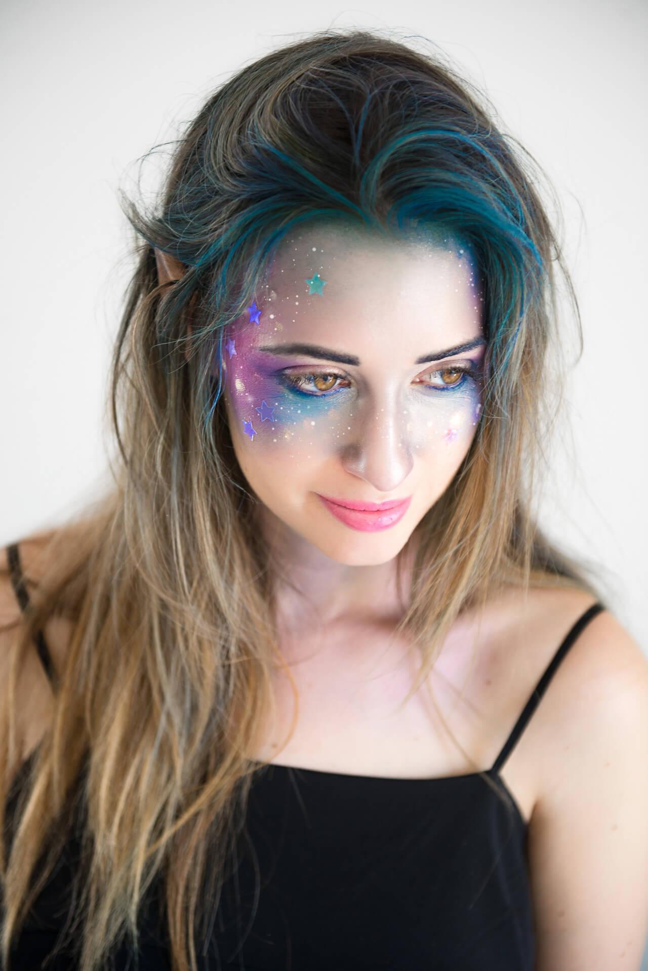 Galaxy Girl Makeup Tutorial