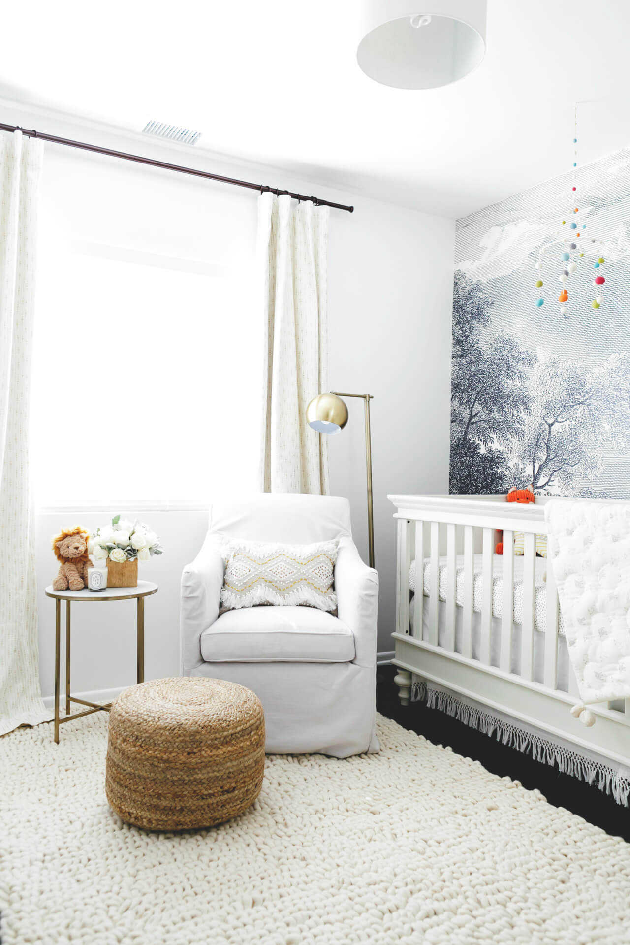 Augustine's Nursery Reveal- Gender Neutral design