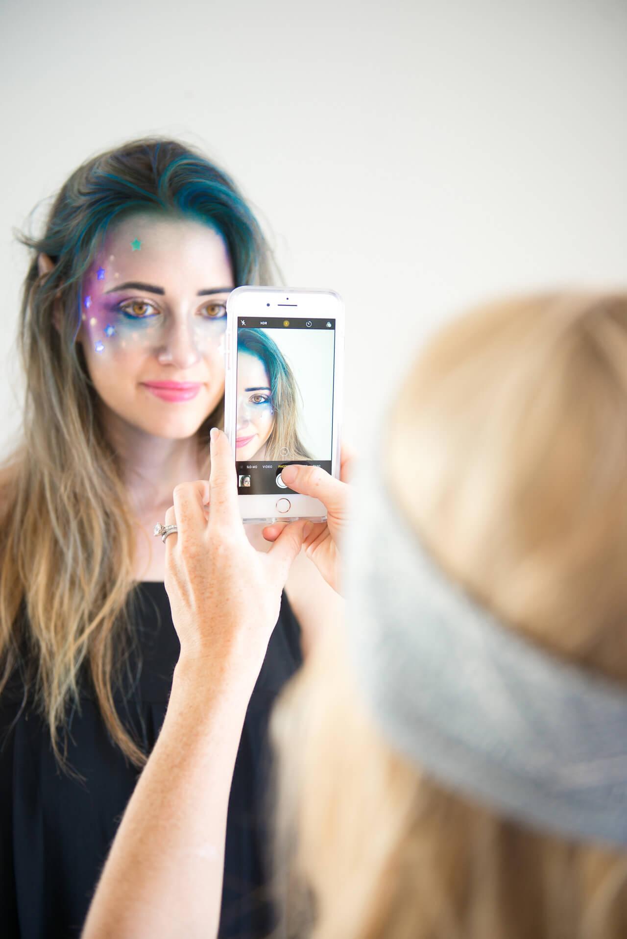 a fun and creative halloween makeup tutorial