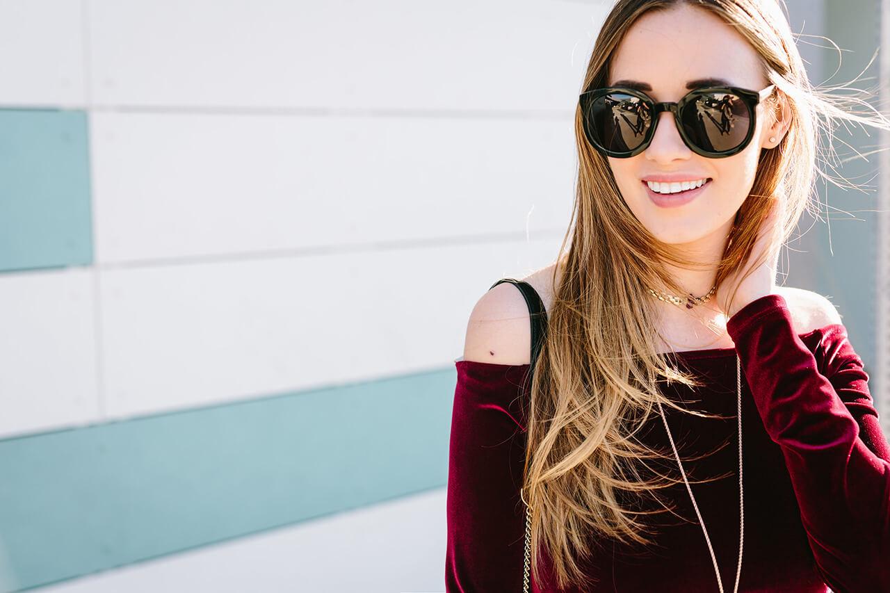 black karen walker sunglasses
