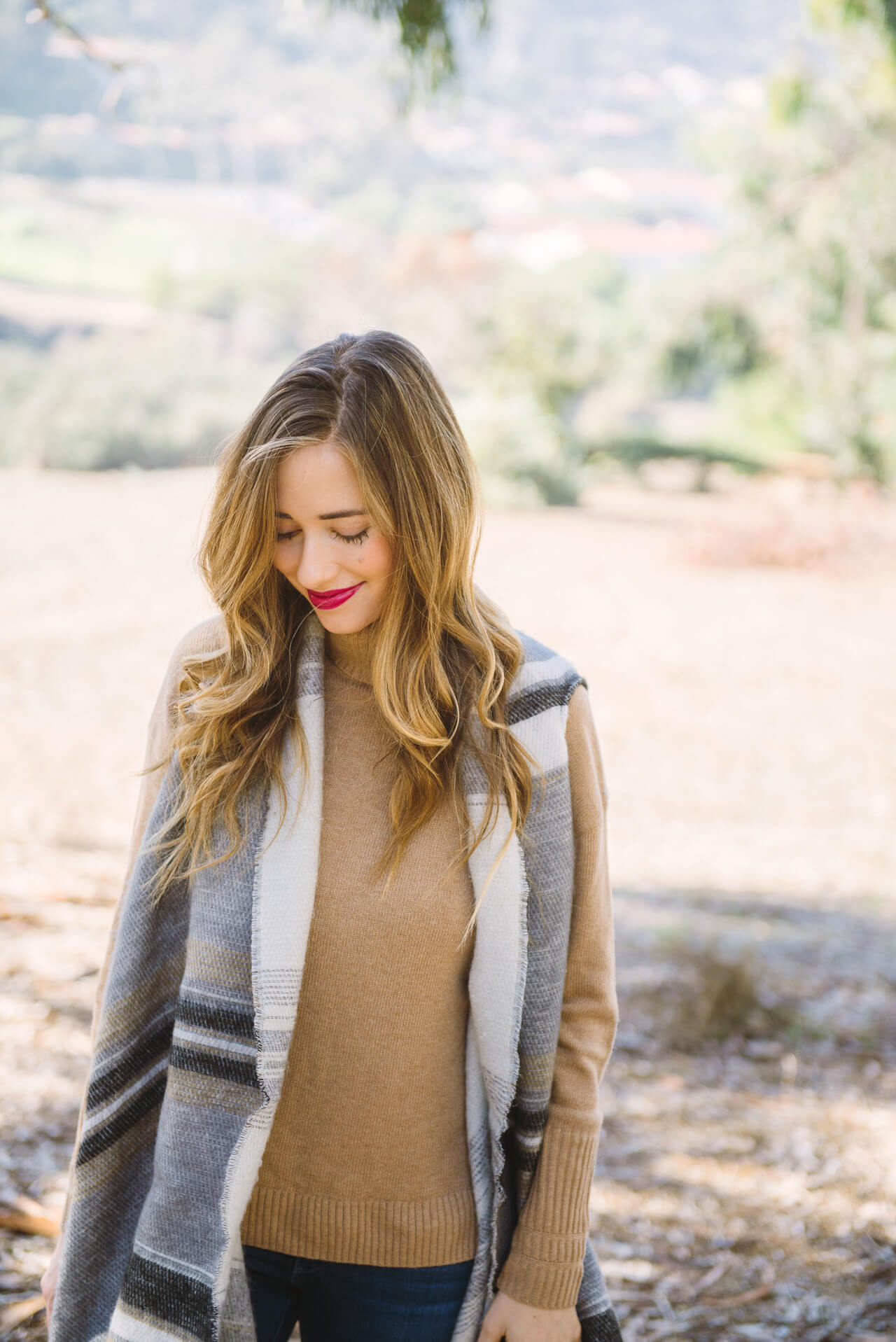 a cozy fall outfit