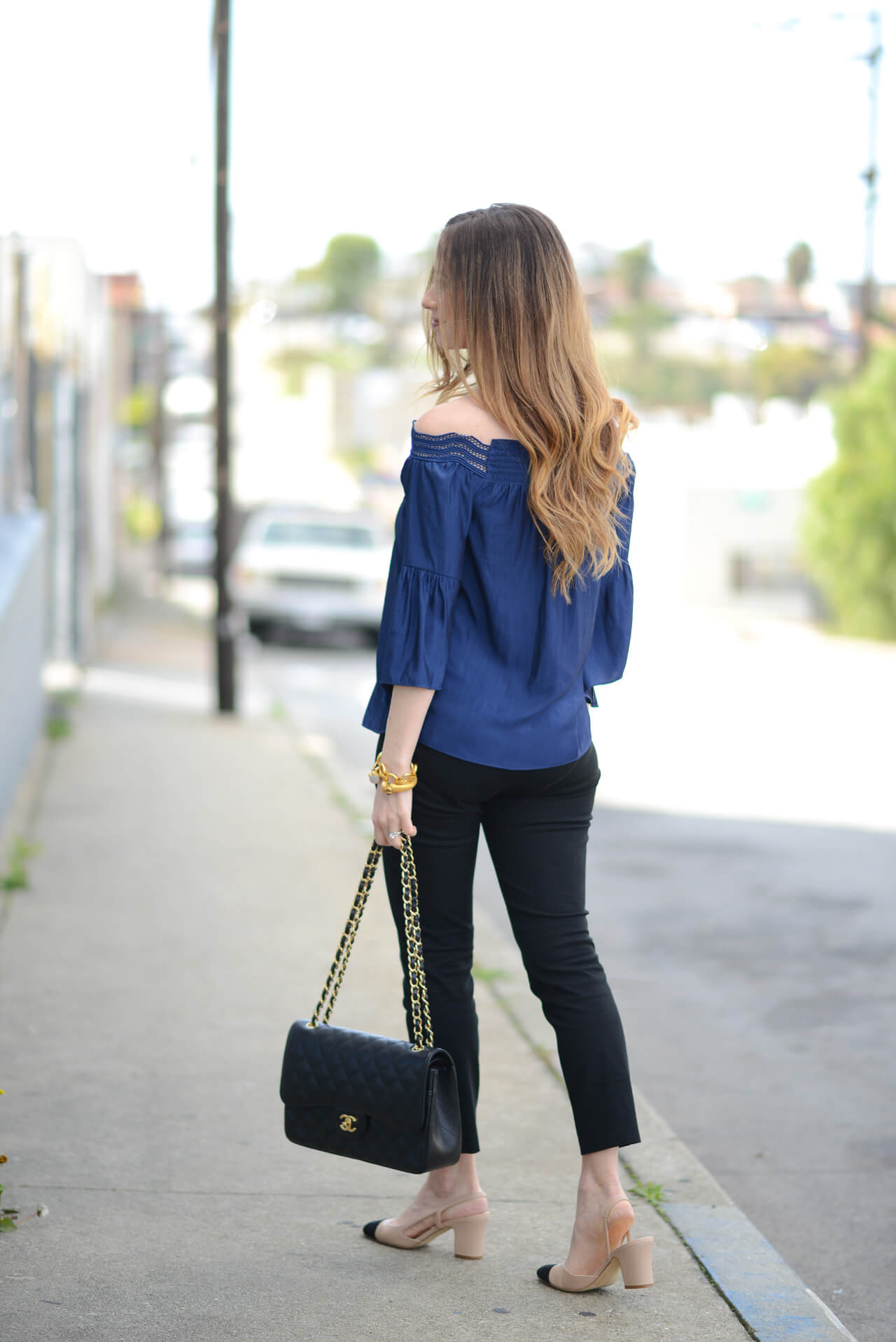 how to style black and navy
