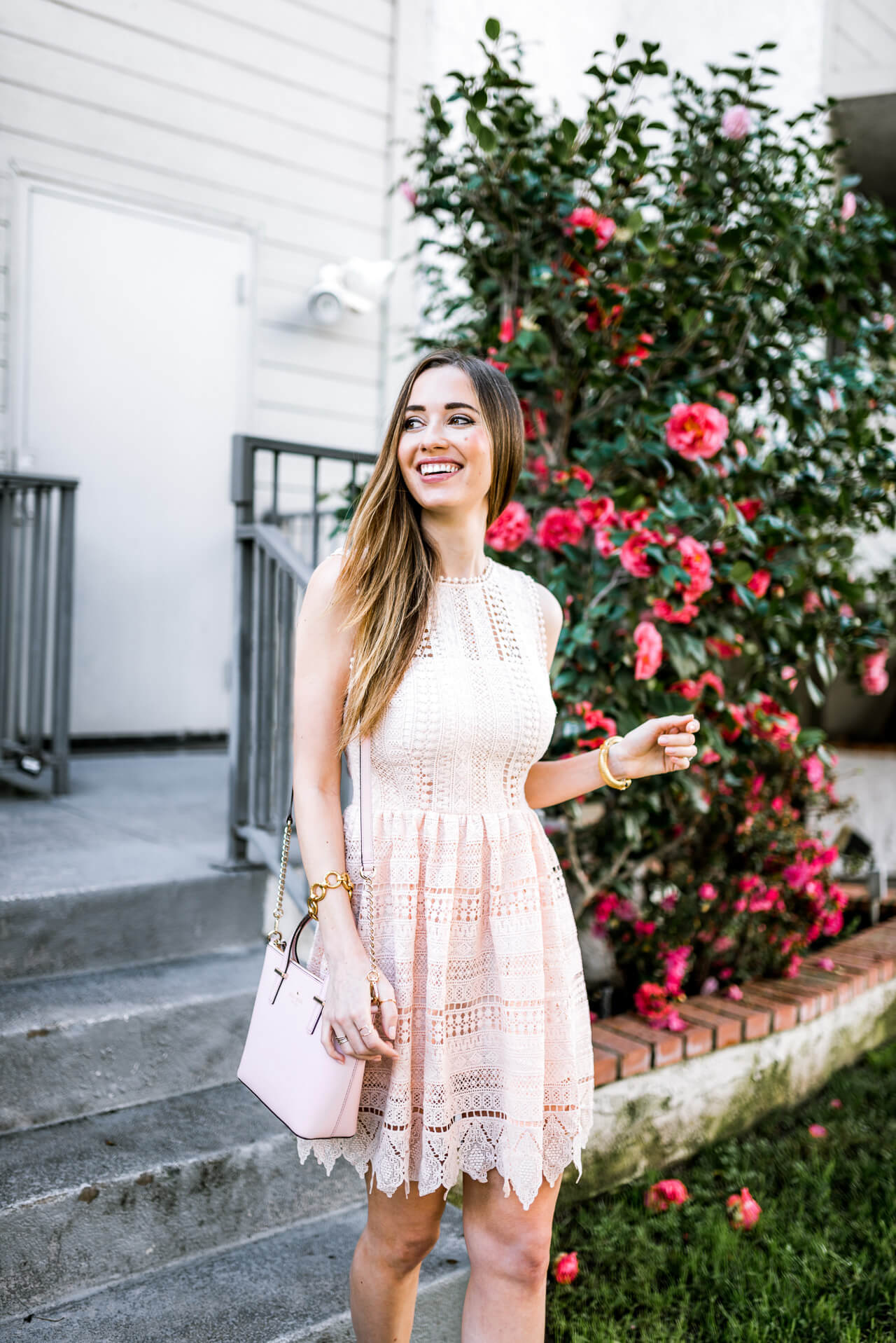 lace dress that's so perfect for spring!