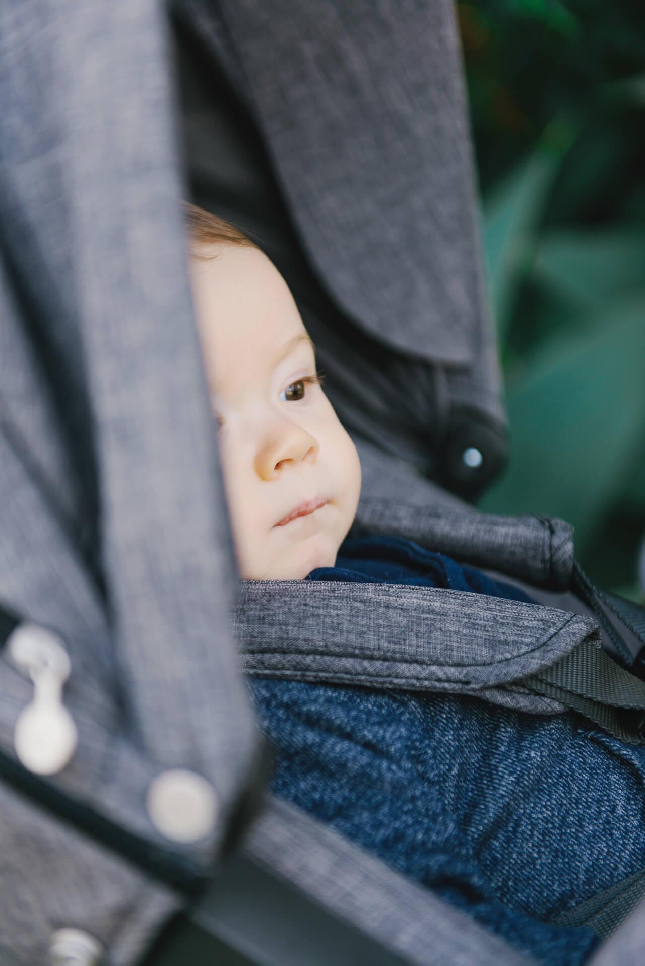 augustine in stroller