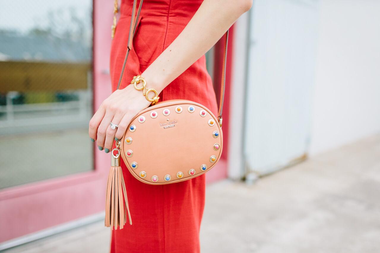 kate spade devoe street tinley bag with the tassels - so cute!