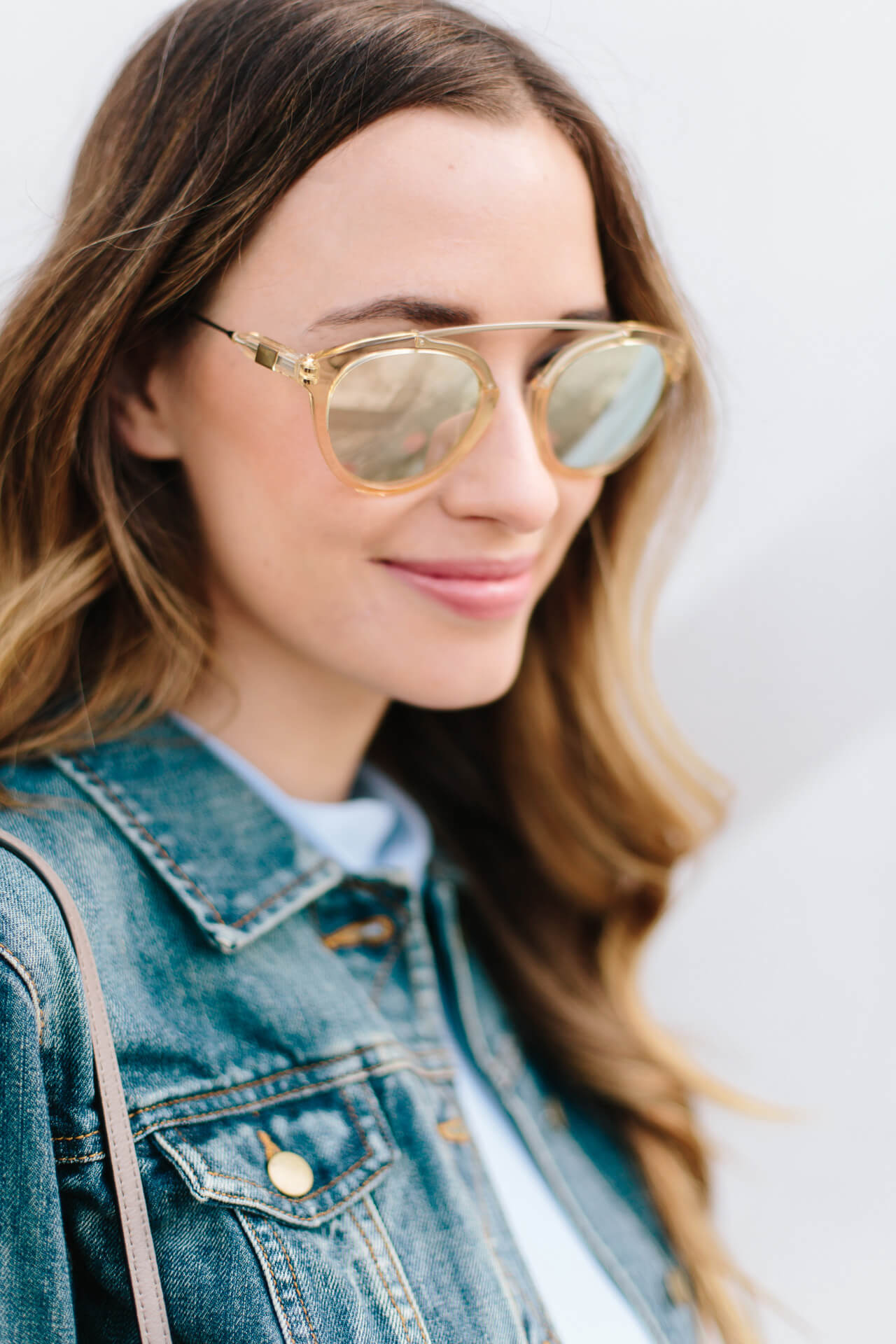 love these mirrored sunglasses from westward leaning