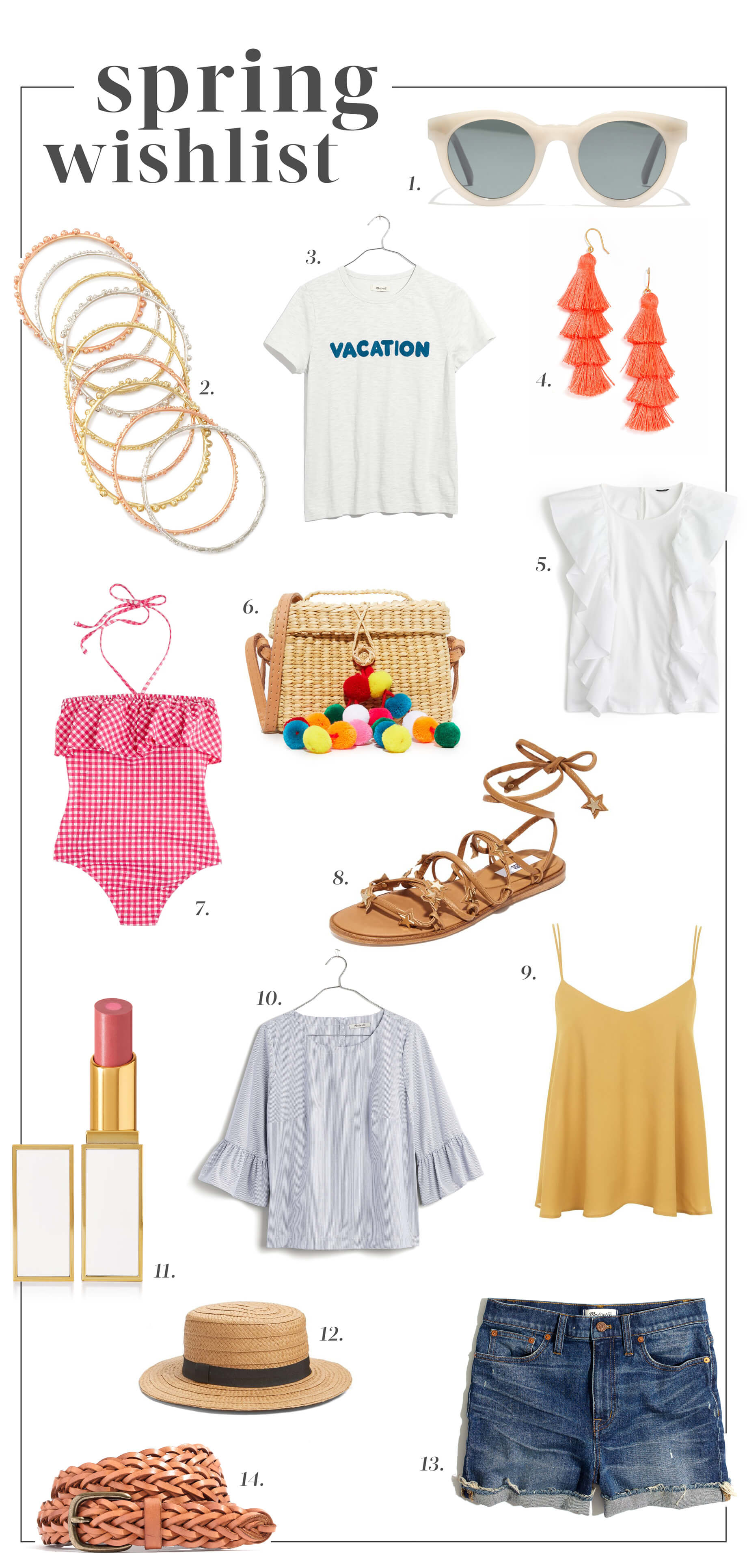spring wishlist - M Loves M