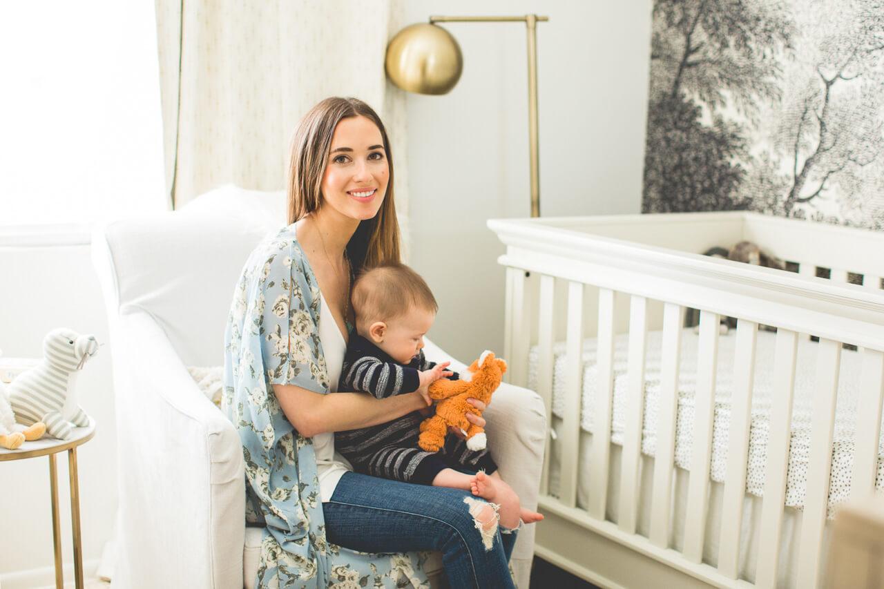 Mara and Augustine in nursery