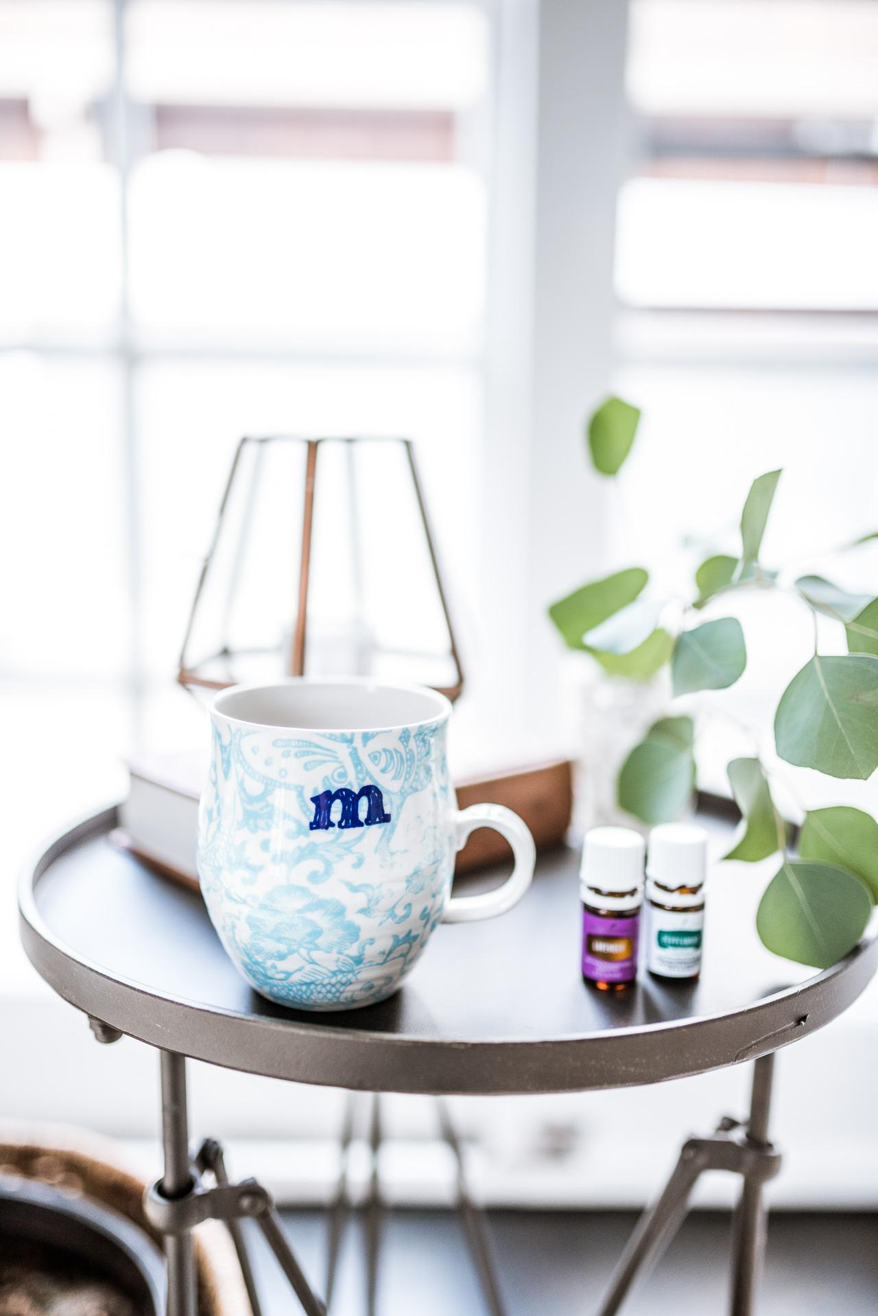 de-stressing with essential oils