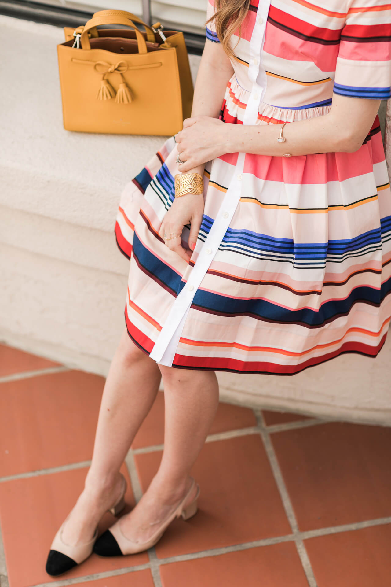 girly kate spade outfit - los angeles fashion blogger