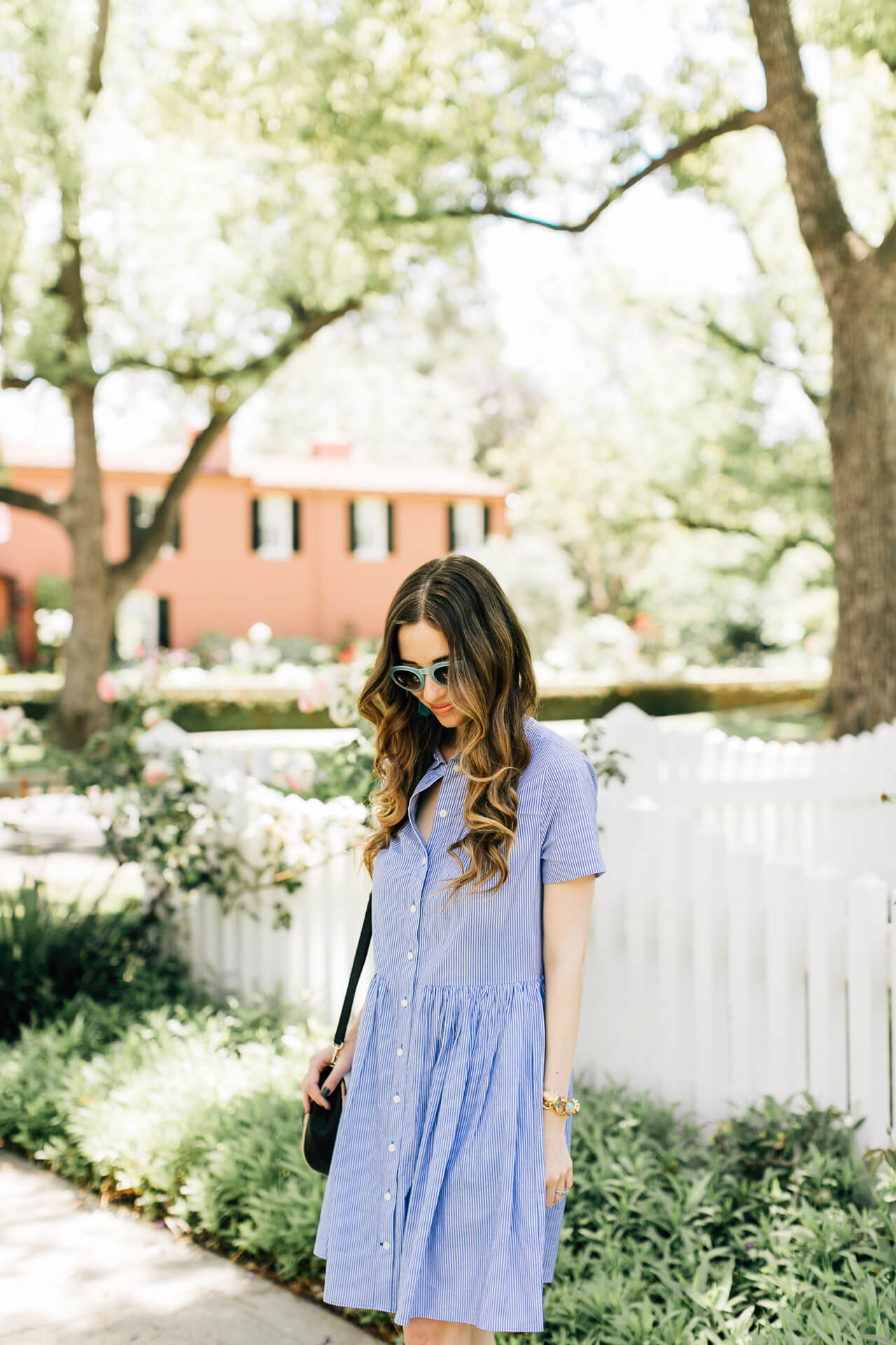love this pretty kate spade swing shirtdress