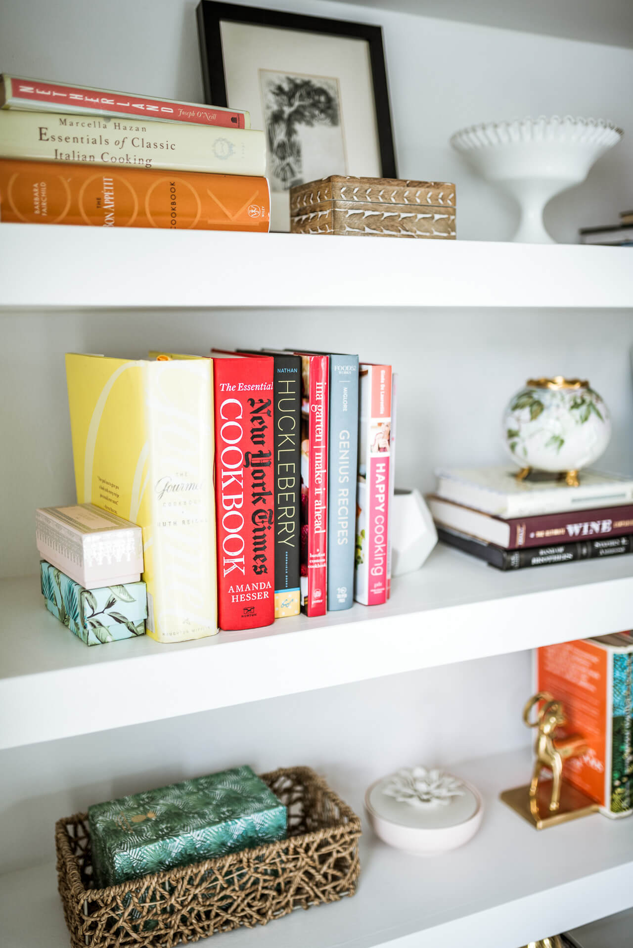my top cookbooks I use at home