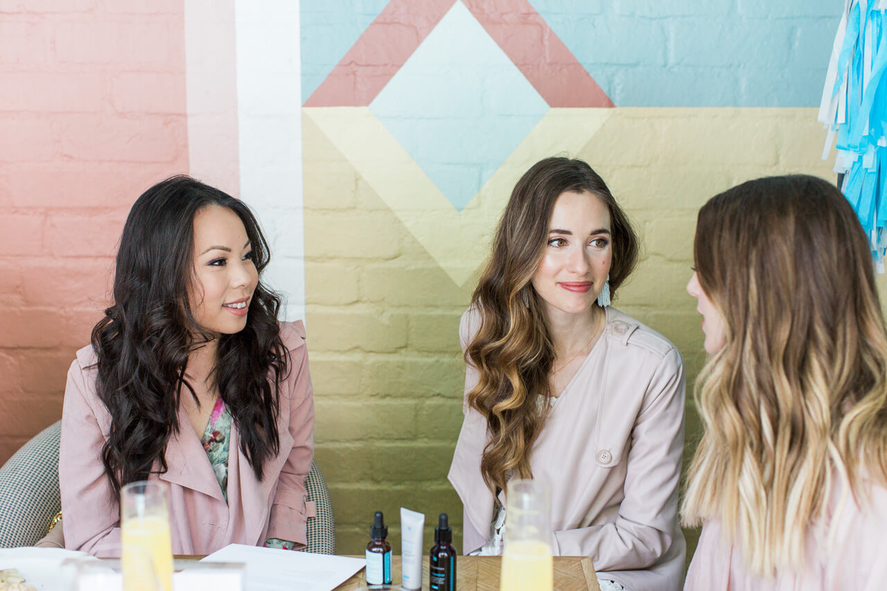 Los Angeles bloggers talk about skincare issues and concerns