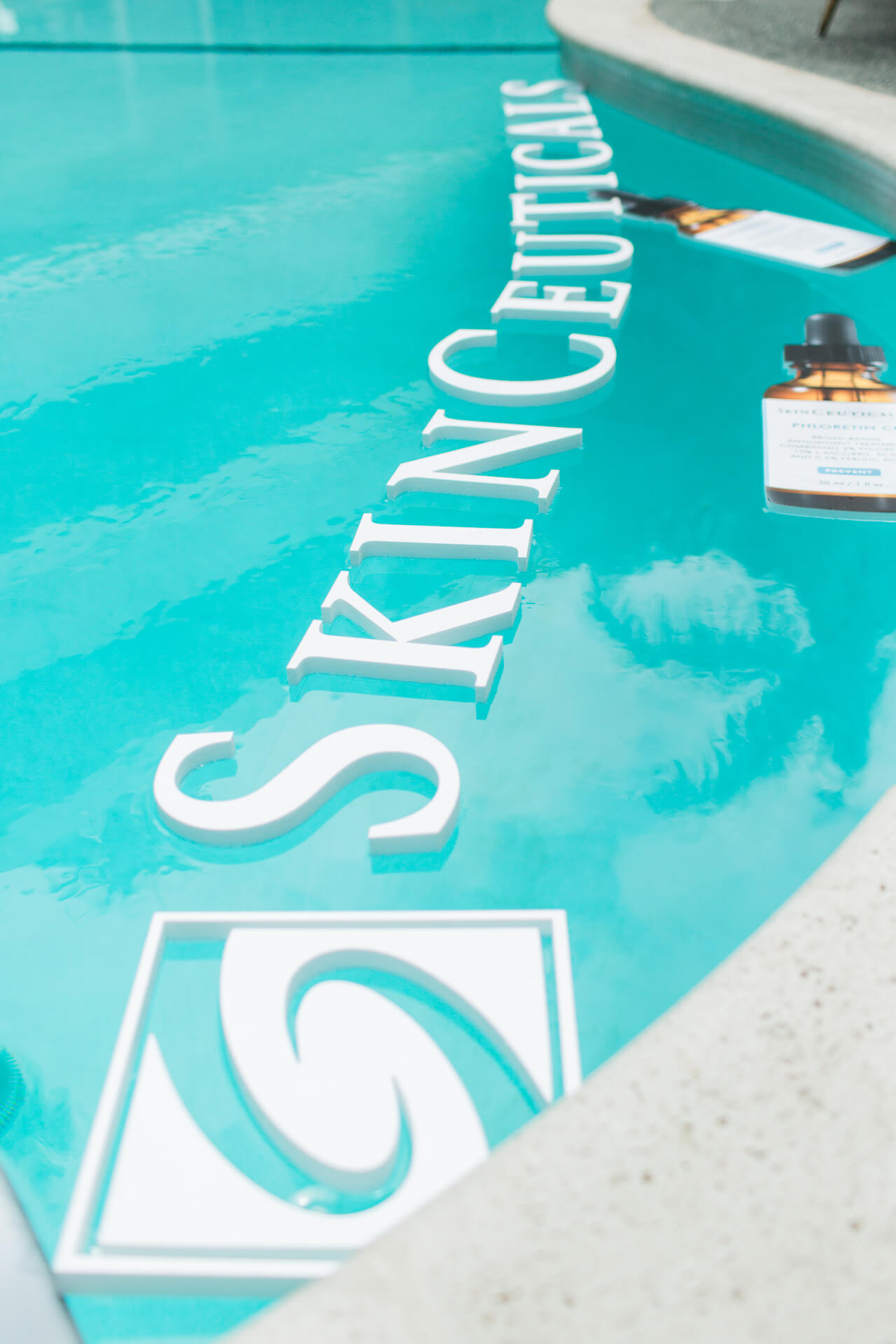 Skinceuticals event in Los Angeles about environmental aging