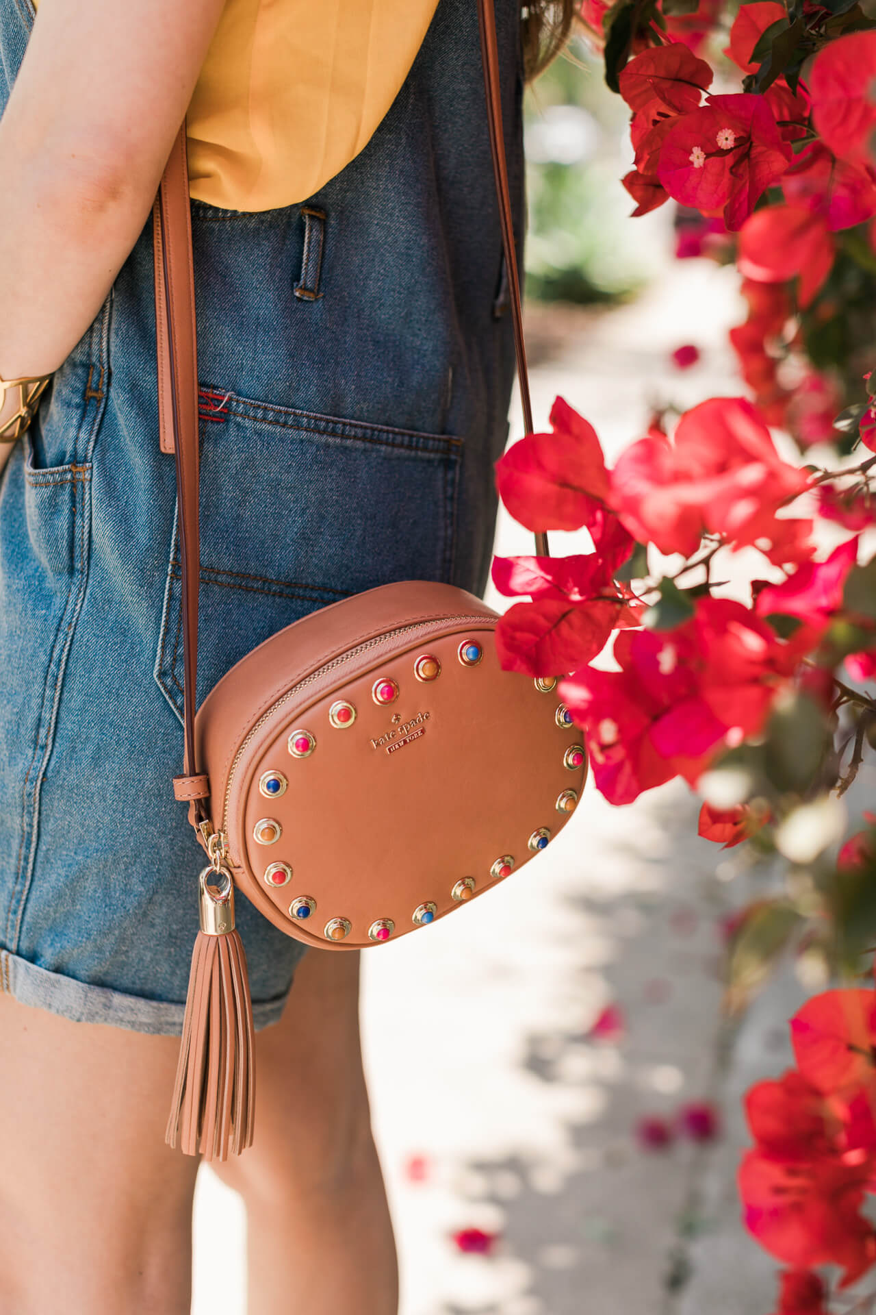love this little bag with the studs and tassle- M Loves M @marmar