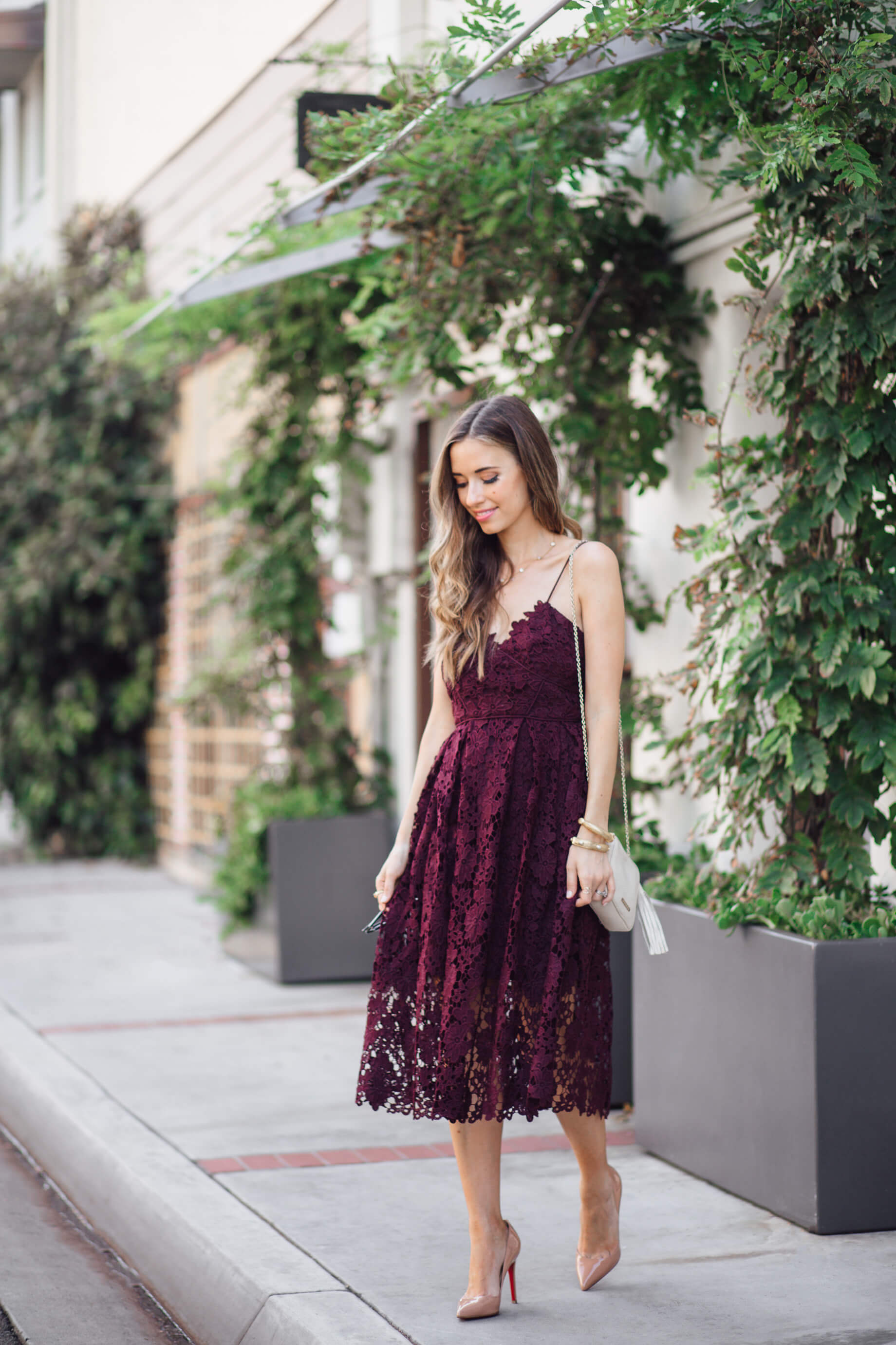 This number is the perfect fall wedding guest dress