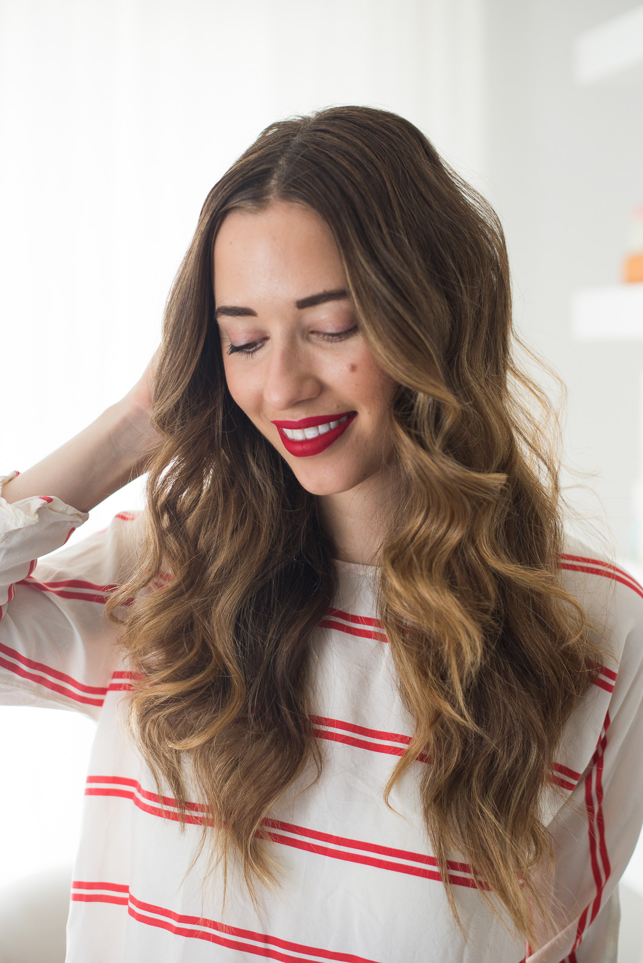 Natural wavy hair inspiration for summer and fall | M Loves M - @marmar
