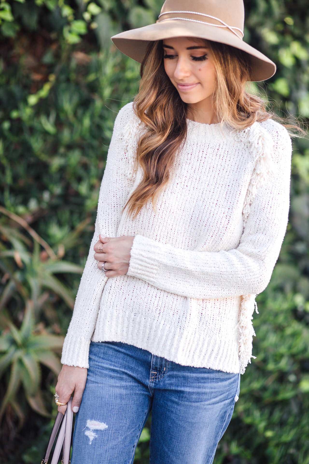 The perfect cream sweater for all your fall feels | M Loves M - @marmar