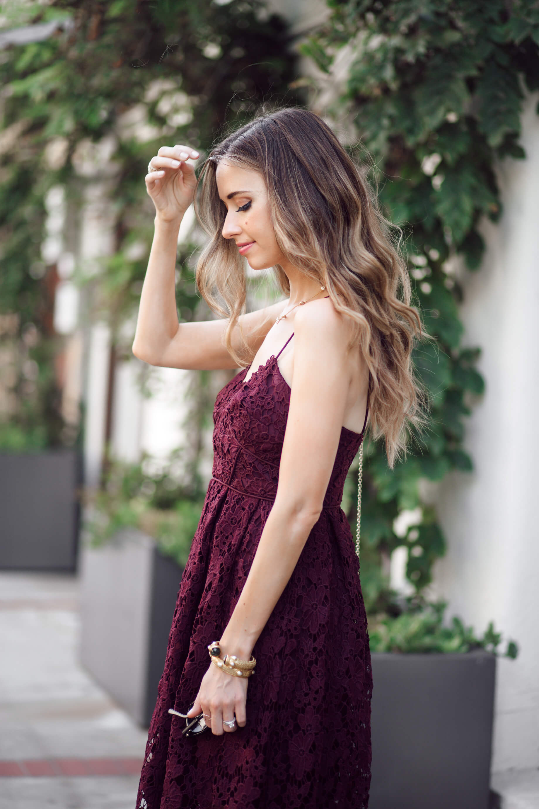 Love this effortless dress number for a fancy evening